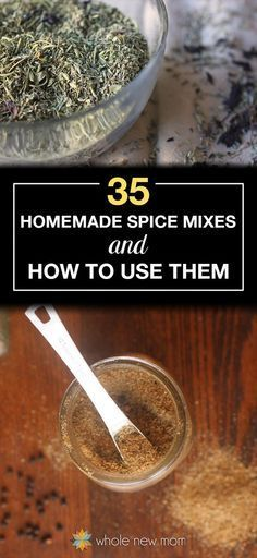 35 Homemade Spice Mixes & How to Use Them! No need to buy spice mixes when you can make them yourself! From curry power to taco seasoning these homemade spice mixes are free of additives. Great ways to use them too! Homemade Spice Blends, Homemade Spices, Homemade Seasonings, Homemade Dry Mixes, Spice Rub, Spice Mixes, Cooking Tips, Cooking Recipes, Smoker Recipes