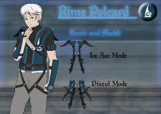 RWBY weapon: Regalis Crysalia Trinity by BlissClouds on DeviantArt