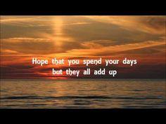 ▶ OneRepublic - I Lived Lyrics - YouTube