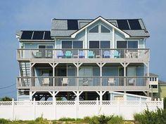Ocean's Edge, 4 bedroom Ocean Front home in Salvo, OBX, NC $3,995