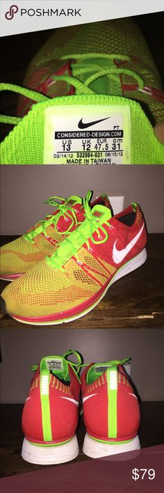 Nike Flyknit Trainers Great condition! Size 13.  Running, training, gym. Nike Shoes Sneakers