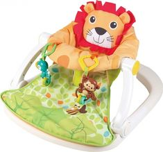 Scaunel cu activitati Leu pentru bebelusi – este o combinatie inovativa intre un centru de activitati si un booster util si compact. Scaunul este un spatiu sigur si confortabil in care bebelusul va invata sa stea corect si, in acelasi timp, sa interactioneze cu jucariiledin jurul lui. Toy Story, Stea, Pikachu, Orice, Toys, Friends, Compact, Fictional Characters, Products