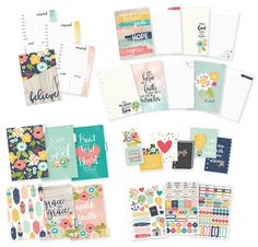 Simple+Stories+-+Carpe+Diem+Collection+-+Faith+-+A5+Planner+-+Insert+Set+at+Scrapbook.com
