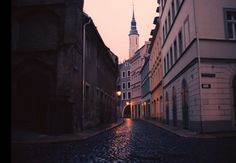 "danaids: "" pictures from görlitz, germany where the grand budapest hotel was filmed """