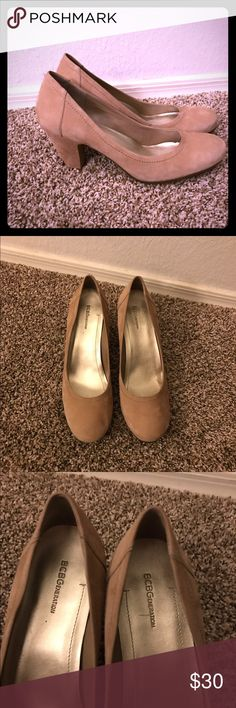 BCBGeneration Nude Patent Pumps 3&quot Heel | D Shoes heels and Chang&39e 3