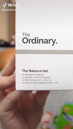 Here is how to use The Ordinary Skincare Balance Set for beginners.