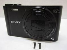 CD74FC ソニー SONY Cyber-shot DSC-WX300 ジャンク_画像1
