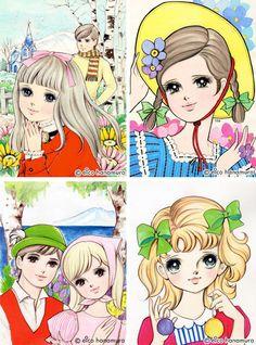 Cute and Pop! 60s Girls Comics by Eico Hanamura | PingMag : Art, Design, Life – from Japan