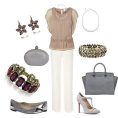 """BFF's Day to Eve Mixed Metal Early Fall Look"" by jilljones222 on Polyvore Find jewelry: chloeandisabel.com/boutique/jilljones"