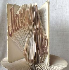 Marry Me  Book folding pattern and FREE Tutorial by PatternsStore