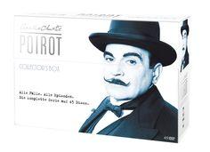 Poirot - Collector's Box im Schmuckkarton exklusiv bei Amazon.de Limited Collector's Edition 45 DVDs: Amazon.de: DVD & Blu-ray