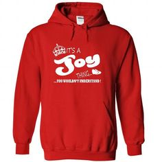 It's a Joy Thing, You Wouldn't Understand T Shirts, Hoodies, Sweatshirts. CHECK PRICE ==► https://www.sunfrog.com/Names/It-Red-22133775-Hoodie.html?41382
