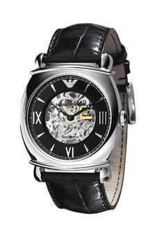 Shop Emporio Armani Men's Watch XL Analogue Automatic Leather ✓ free delivery ✓ free returns on eligible orders. Emporio Watches, Armani Watches, Emporio Armani, Armani Men, Sport Watches, Watches For Men, Women's Watches, Mens Designer Watches, Automatic Watch
