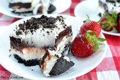 No Bake Oreo Delight (& Cookbook Giveaway!) - The Cozy Cook