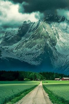 Mountain Storm, The French Alps, world