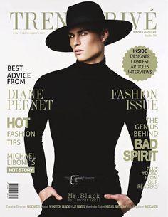 FiSF alumni JUSTIN JAMISON - Menswear on the cover of Trend Prive Magazine! Learn more about FiSF at www.fashionincubatorsf.org/