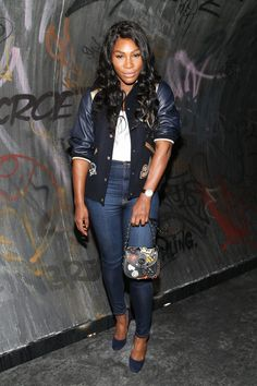 Serena Williams Photos Photos - Serena Williams arrives at the Coach 1941…