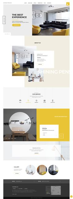 web design - web design on Behance - Web Design Programs, Web Design Websites, Site Web Design, Clean Web Design, Online Web Design, Web Design Quotes, Web Design Studio, Website Design Layout, Website Design Services