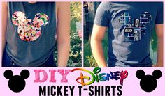 I'm so happy to show you how to make your very own customizable Mickey T-shirts! This iron-on method is so easy, fast, and fun. You'll need: Fabric Shirts He...