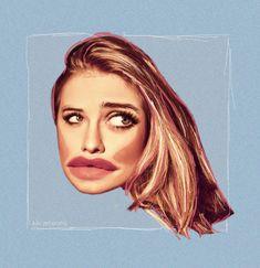 Collage by Kristyna Hrdlickova (KiKi ArtWorks) Model - Emma Smetana