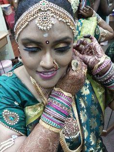 South Indian Bride Wedding Bridal Makeup And Hair