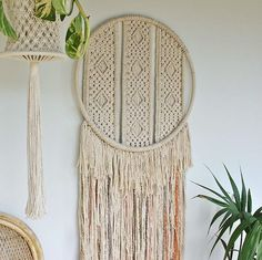 ...and another of our Gem Macrame wall hanging