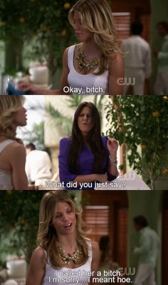 Naomi being Naomi. No other way to describe this #90210