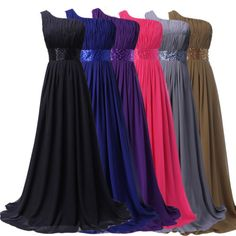 2015-Women-Long-Chiffon-Bridesmaid-Dress-Evening-Gown-Prom-Formal-Party-Dresses