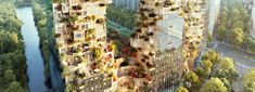 MVRDV breaks ground on valley, a mixed use complex in amsterdam Mixed Use, Central Business District, New Image, Apartment Plans, Architecture, Real Estate, Arcology, Building, Amsterdam Netherlands