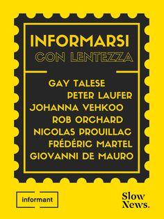 informarsi-con-lentezza Ebooks, Typography, Social Media, Poster, Design, Letterpress, Letterpress Printing, Social Networks, Design Comics