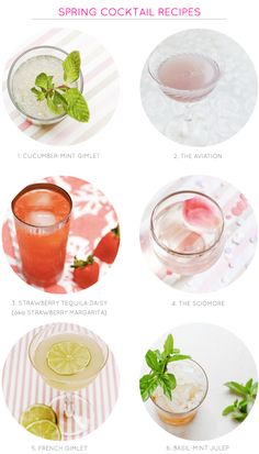 A round-up of spring #cocktail recipes: http://ohsobeautifulpaper.com/2015/03/spring-cocktail-recipes/ | Recipes : Liquorary for Oh So Beautiful Paper | Photos: Nole Garey for Oh So Beautiful Paper