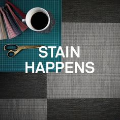 Accidents happen, we know! But don't worry, Bolon floors are easy to clean. Most stains can be removed using only water but sometimes you need a little extra help. In our cleaning support guide we list everything from gum to dirt and glue and how it's removed. Indoor Outdoor Furniture, Cleaning Hacks, Floors, How To Remove, Stains, Shit Happens, Interior Design, Learning, Water
