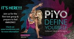 ALL NEW PiYo Challenge Group! - Did you miss our 7/7 group? You're in luck--our first group was so popular we opened a second one! The next group starts 7/14.