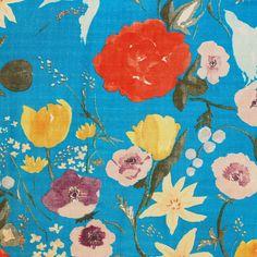 Fuccra Rakuen Blue by Phat fabric, via Flickr