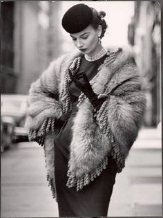 Fashion Vintage: Winter Wear...1952
