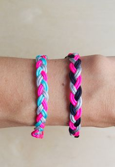 Braided Friendship Bracelets - The Purl Bee - Knitting Crochet Sewing Embroidery Crafts Patterns and Ideas!