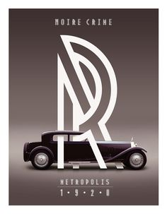 """Metropolis, by Josip Kelava. """"Metropolis 1920 comes from the industrial movement of the 1920′s where skyscrapers where born. Using a double line technique, I wanted to create my own Art Deco style font that represented this era. The result is a bold, bumptious typeface with a stolidly calm disposition."""" Via http://freetypography.com/2012/05/01/free-font-metropolis-1920/"""