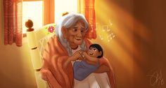 Miguel's Lullabies- Mama Coco singing a lullaby to Miguel Rivera as a baby from Coco