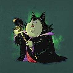 Chunky Maleficent Famous Chunkies - Alex Solis