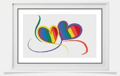 LGBT Cross Stitch Pattern lgbt xstitch chart by PeppermintPurple