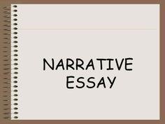 narrative essay on education