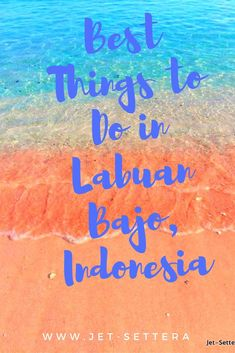 The best things to do in Labuan Bajo, Indonesia are hiking the Padar Island, visiting the Komodo Dragon, having a picnic on Pink Beach. via /jetsettera7/