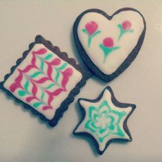 Galletas decoradas con glasa