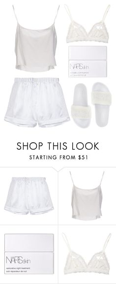 """""""Untitled #562"""" by robinheera16 ❤ liked on Polyvore featuring RaphaÃ«lla Riboud, Jean-Paul Gaultier, NARS Cosmetics, Hanky Panky and Puma"""