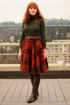 94cce14f81f3d Discover this look wearing Ruby Red Vintage Skirts