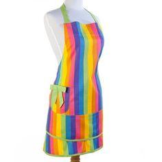 Sin in Linen Colorful Rainbow Print Apron by Sin in Linen, http://www.amazon.com/dp/B0089FZDCI/ref=cm_sw_r_pi_dp_jXXGqb0NF1NN1