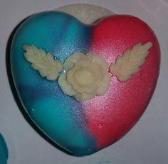 Herz Joghurt Himbeer Törtchen