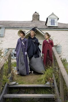 Hattie Morahan (Elinor Dashwood) Janet McTeer (Mrs. Dashwood) & Charity Wakefield (Marianne Dashwood) in Sense and Sensibility (TV Mini-Series, 2008)