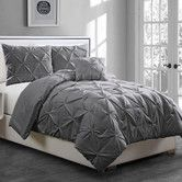 Found it at AllModern - Anabelle Pinch Pleat 3 Piece Twin Coverlet Set