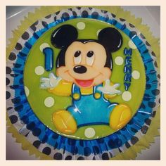 Mickey Mouse Baby Gelatin